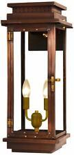 The Coppersmith Contempo Co 24E Copper Electric Wall Lantern Brand New in Box