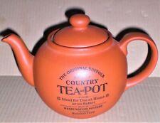 Henry Watson - The Original Suffolk Tea-Pot  - Terracotta