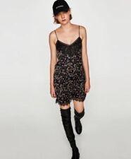 Nero VenditaEbay Zara Vestito Pizzo In HW9IDE2