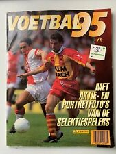 PANINI VOETBAL 95 DUTCH FOOTBALL ALBUM 1995 RARE COMPLEET