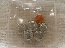 2 LOT OF 100 LINCOLN CENTS WITH RELIGIOUS CROSS CUT-OUTS IN THE COIN /<THICK/>
