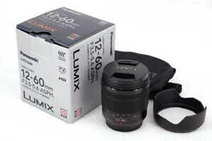 Panasonic Lumix G Vario 12-60mm F3.5-5.6 ASPH. POWER O.I.S. Lens H-FS12060