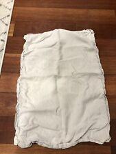 hotel collection standard pillow sham Natural Linen