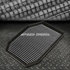 FOR 04-07 BMW E60 5-SERIES SILVER REUSABLE&WASHABLE HIGH FLOW DROP IN AIR FILTER