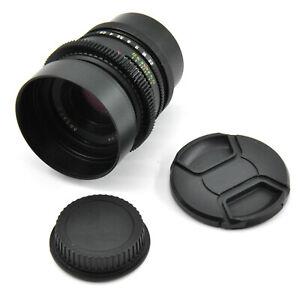 CLA'd Arsat C 80mm F2.8 Lens For Canon EF Mount! Adjusted For Filmmakers!