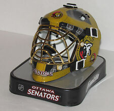 Ottawa Senators NHL Hockey Team Logo Franklin Sports Mini Goalie Mask