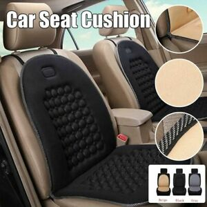 NEW Black Car Van Seat Cushion Orthopaedic Front Seat Cover Protect Back Support