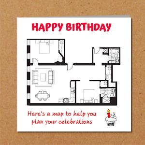 Self Isolation / Lockdown Birthday Card - Funny Amusing Humour Family Friends