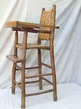 Swell Wooden High Chair Antique Chairs For Sale Ebay Unemploymentrelief Wooden Chair Designs For Living Room Unemploymentrelieforg