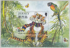 Jersey 1998 Chinese New Year (Year of The Tiger) Mini Sheet UM SGMS843 Cat £2.50