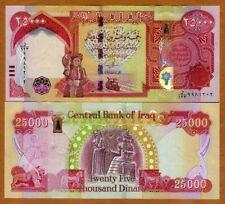 Iraq, 25000 (25,000) Dinars, 2013, P-102a, Hybrid Polymer, UNC