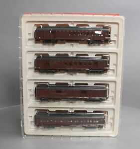Rivarossi RT600227 HO Pennsylvania 60' Heavyweight Passenger Set - Weathered/Box