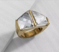 NEW Silpada Dual Crystal KRR0126 Ring Size 5
