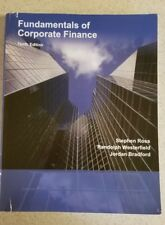 Fundamentals of Corporate Finance Ross Westerfield Jordan 10th Edition Softcover