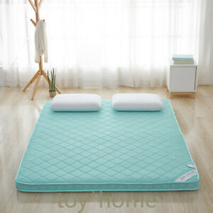 4D Breathable Soft Environmental Thick Warm Foldable Mattress Topper Quilted Bed
