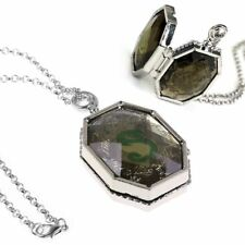 New Harry Potter Prop Slytherin Horcrux Locket Necklace Costplay Retro Gifts