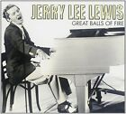 Jerry Lee Lewis:Great Balls Of Fire - CD