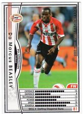 figurina CARD WCCF EUROPEAN CLUB 2004/05 PANINI NEW 108 PSV EINDHOVEN BEASLEY
