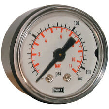 "WIKA Manómetros -0-4 Bar 40mm 1/8"" BSPT Parte Trasera ABS Medidor 4-00383"