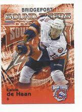 2011-12 Bridgeport Sound Tigers (AHL) Calvin de Haan (New York Islanders)