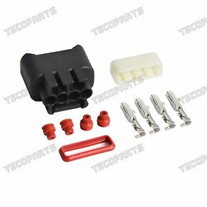 Ignition Coil Plug Connector Kit 90980-11885 Fits Toyota Corolla ZZE120 NZE121