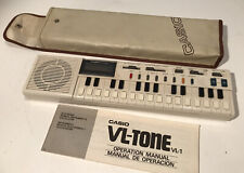 CASIO VL-TONE VL-1 ELECTRONIC KEYBOARD SYNTHESIZER LOOP PROGRAMMABLE CALCULATOR