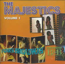 The Majestics ‎– Volume 1 (Instrumental R&B  + Funky Broadway)   New cd