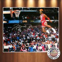Michael Jordan Autographed Signed 8x10 Premium High Quality Photo REPRINT
