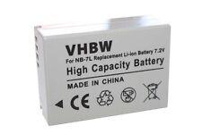 Batterie pour Canon G12 SX30 is G-12 SX30is ACCU