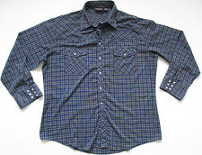 Rockabilly Polycotton Vintage Casual Shirts & Tops for Men