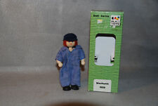 New Mechanic Self Standing Miniature Dollhouse Doll Red Haired