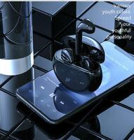 NEW Bluetooth 5.0 Headset TWS Wireless Earphones Black Stereo Headphones IPX7