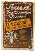 (24,95€/100g) 1 Tüte Staesz Pfefferkuchengewürz / Lebkuchengewürz 20g