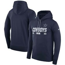 Dallas Cowboys Nfl 2017 Therma-FIT Onfield P.O. Hoodie XL/Nike/Navy/NWT!