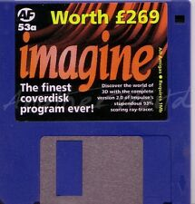Amiga Format - Magazine Coverdisk 53a - Imagine (Full Program) <MQ>