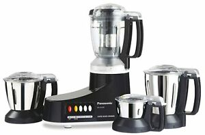 Panasonic AC MX-AC400 Mixer Grinder, 550W, 4 Jars (Black)