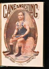 1928 Cane and Wrestling Anant Harihar Khasgiwale Illustrated Author's Present...