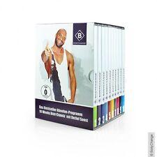 BodyChange Abnehm-Coaching DVDBox 2.0 (10 DVDs mit Workout- + Motivationsvideos)