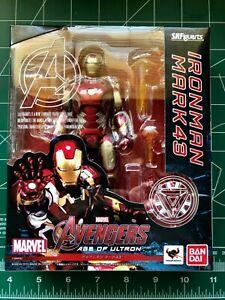 SH Figuarts Iron Man Mark Mk 43 Avengers Age of Ultron Authentic Bandai Tamashii