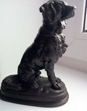 Russian cast iron figure Kusa Kasli Dog Soviet USSR Vintage