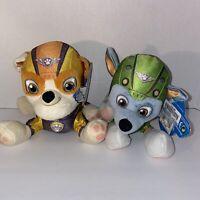 "Paw Patrol Plush Air Rescue Rubble & Rocky 6"" Plushies"