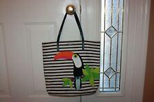 Kate Spade Montigo Avenue Toucan Bon Shopper Tote Purse PREOWNED Bag