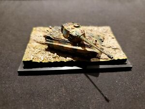 1:144 Scale Tiger 2 (King Tiger) Tank with Display Base