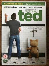 Mark Wahlberg TED ~ 2012 Seth MacFarlane Cult Teddy Bear Comedy | UK DVD