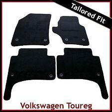 VOLKSWAGEN VW TOUAREG MONTATO SU MISURA MOQUETTE AUTO MAT (2003 2004... 2008 2009) OVALE