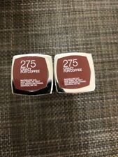 Lot of 2, Maybelline Color Sensational, 275 Crazy For Coffee