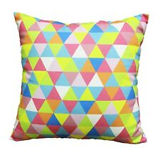 AZTEC COLOURED CUSHION. 45CM