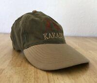 Kakadu Adjstable Baseball Hat Cap Kangaroos Olive Green Tan
