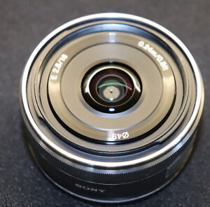 Sony 16mm F2.8 E Mount Lens for Sony Mirrorless Cameras SEL16F28