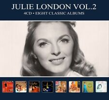 JULIE LONDON - EIGHT CLASSIC..-DIGI-  4 CD NEU+
